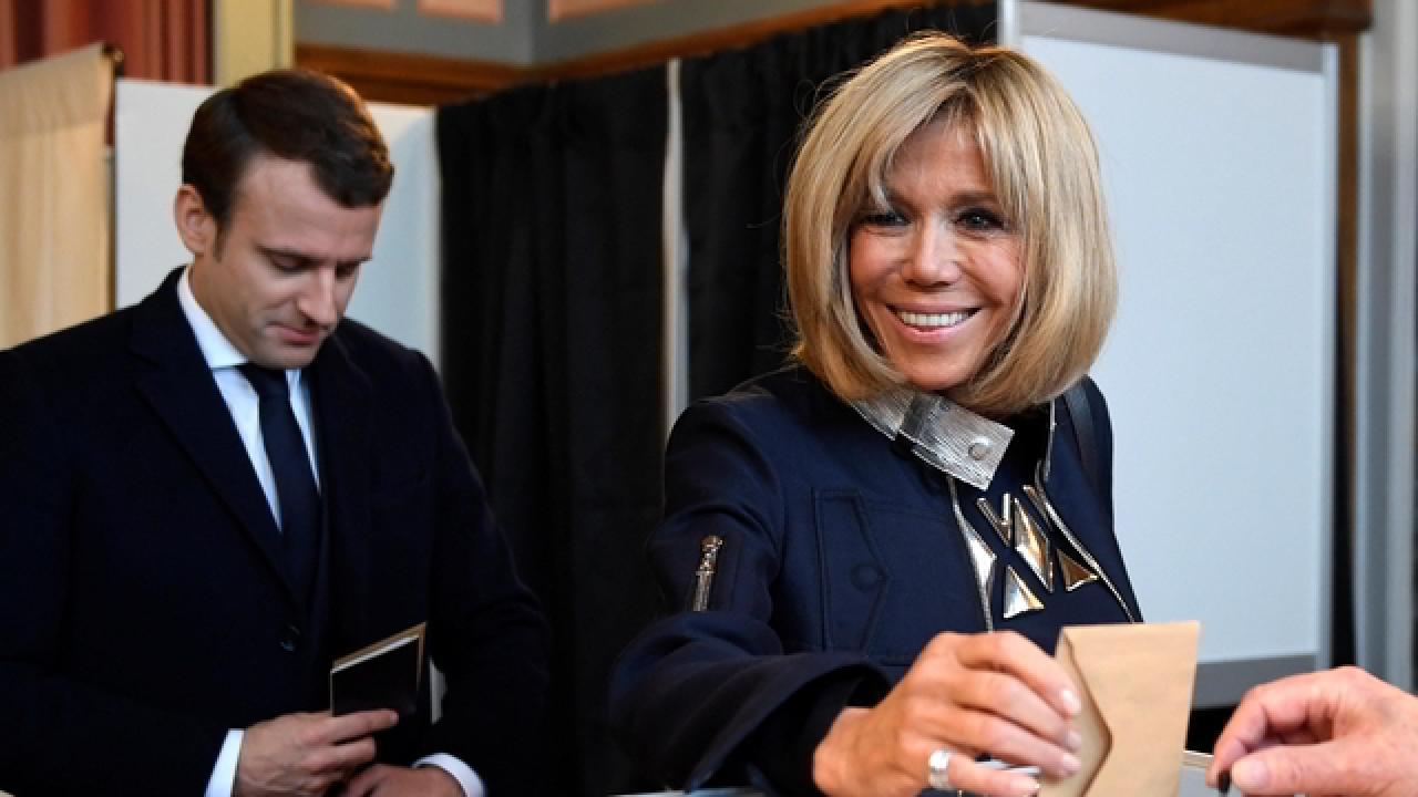 Brigitte Macron, 66 años.