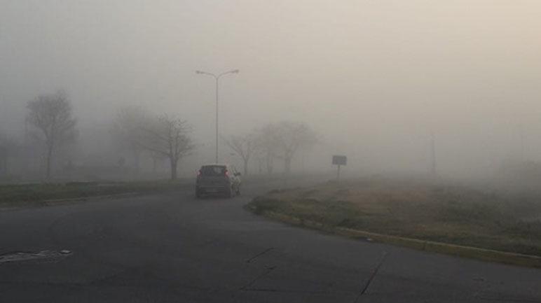 Poca visibilidad en los accesos a la ciudad.