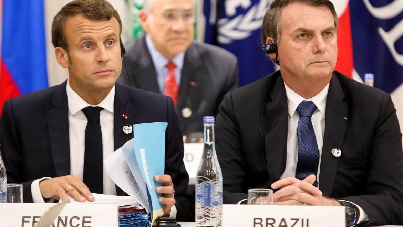 Ambos mandatarios participan de la cumbre del G-7 en Biarritz.