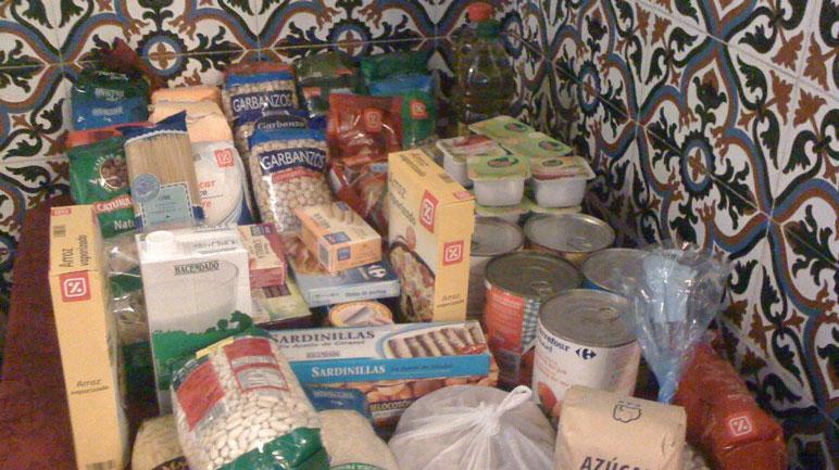 La Vecinal de Granaderos acepta donaciones de alimentos no perecederos.