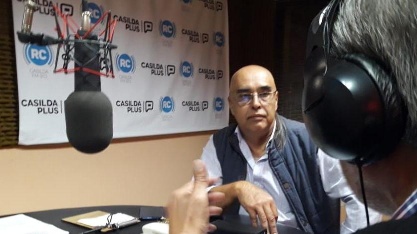 Gustavo Barraza dialogó con Guillermo Monclús.