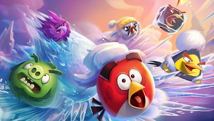 Angry Birds 2, para los más chicos.