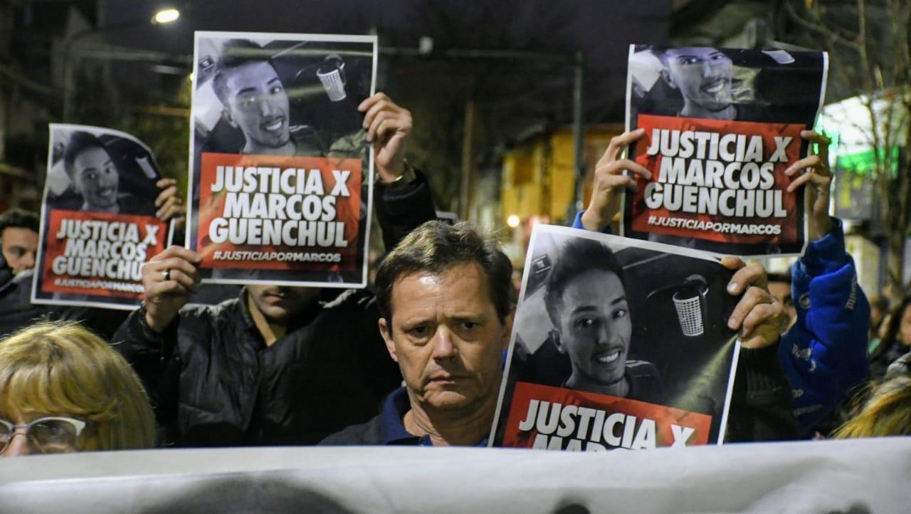 El barrio se había movilizado en reclamo de justicia por Marcos Guenchul.