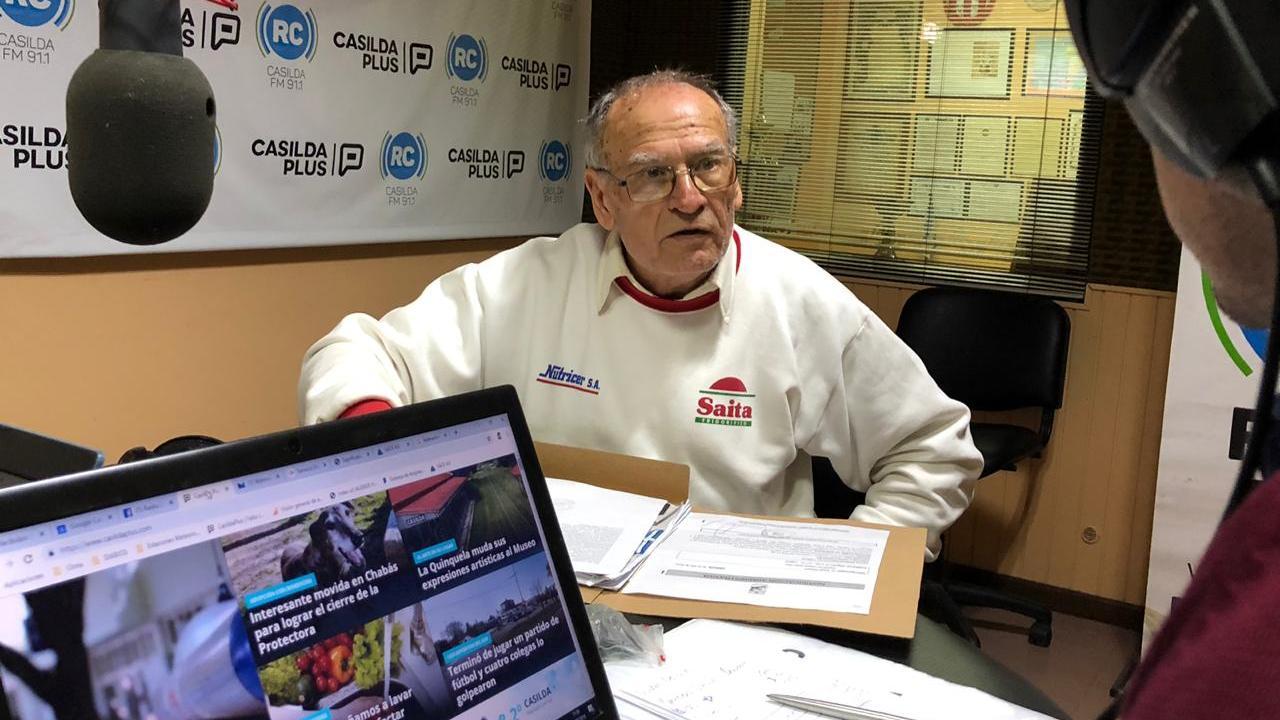 Roberto Serpille, referente del Casilda Motor Club pasó por Radio Casilda.