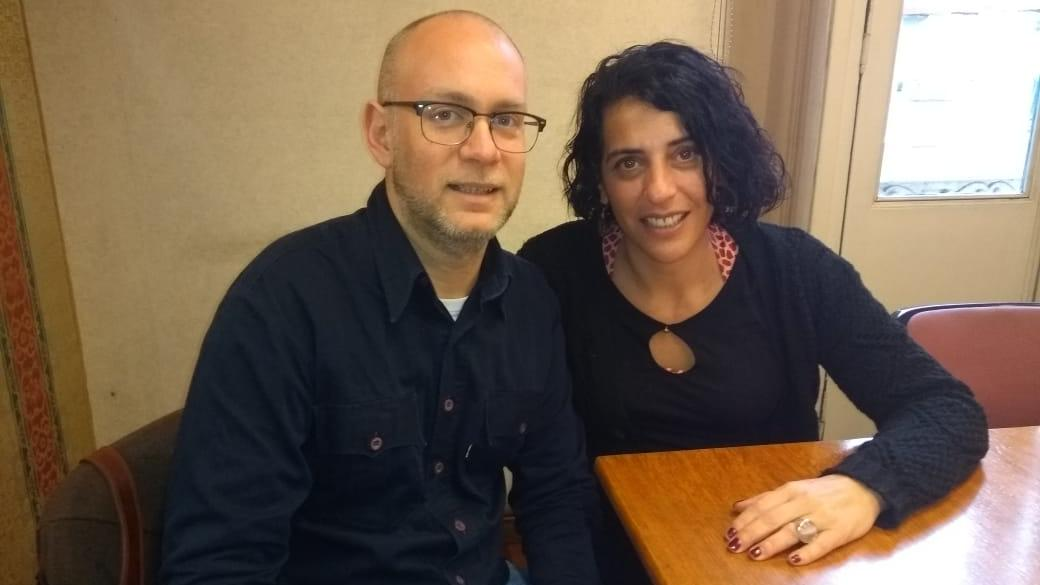 Luciano Fabbri y Florencia Rovetto coordinan el nuevo espacio que depende del Rectorado.