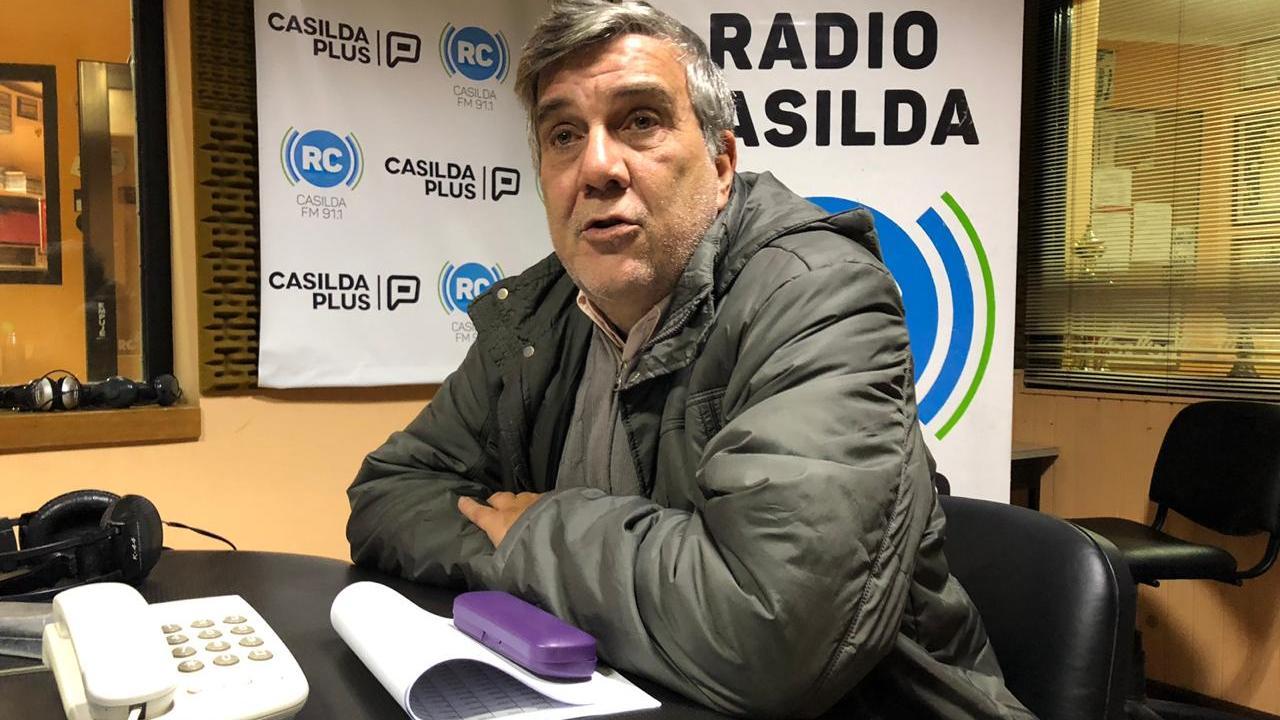 Marcelo Brassini se acercó hasta Radio Casilda.