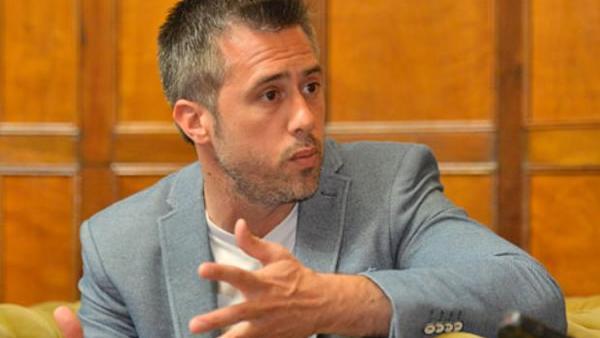El pre candidato a gobernador de Santa Fe, Leandro Busatto.