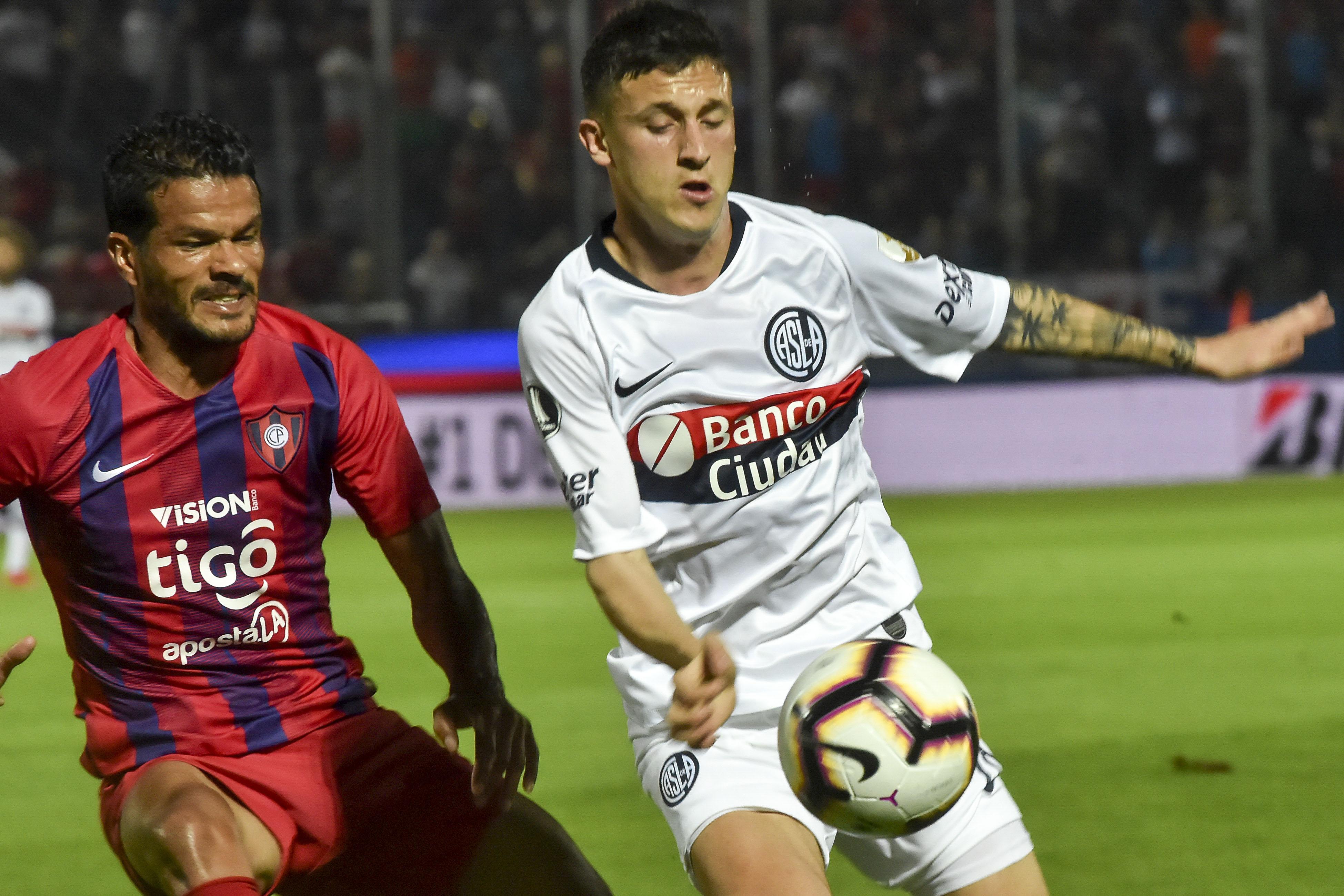 Los paraguayos dieron vuelta el resultado