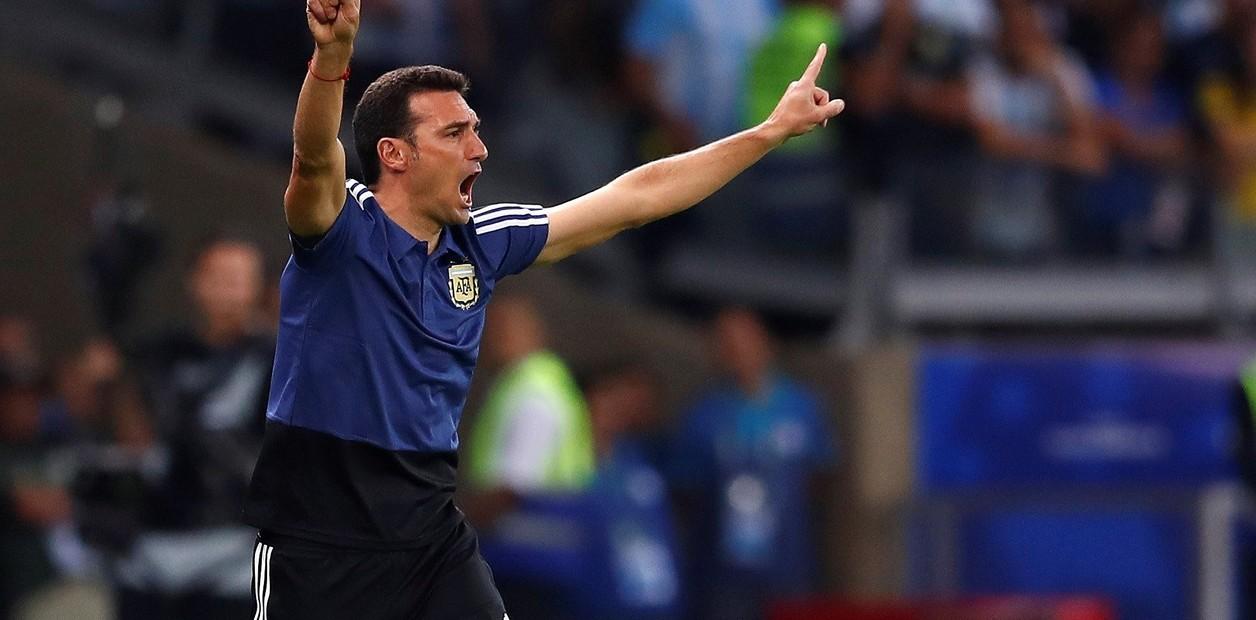 Scaloni sigue al frente del seleccionado argentino.