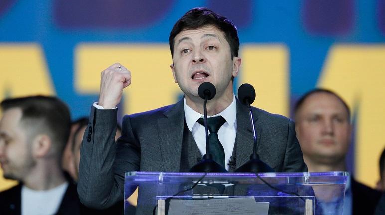 Vladimir Zelenski, presidente ucraniano.