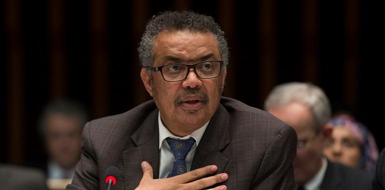 Tedros Adhanom Ghebreyesus, director de la OMS, lanzó el alerta al mundo.
