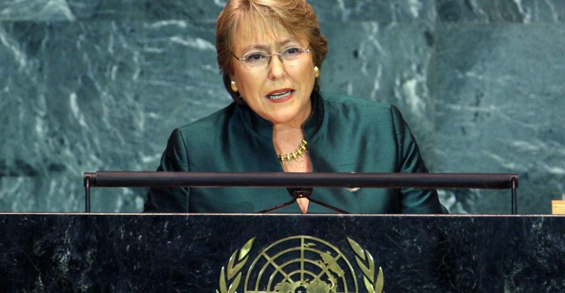 Bachelet condenó el silencio de la comunidad internacional ante la masacre.