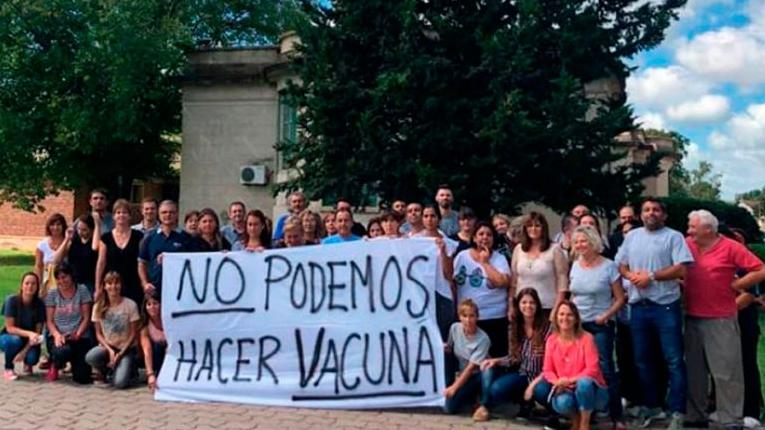 Trabajadores del Instituto Maiztegui y su grave denuncia.