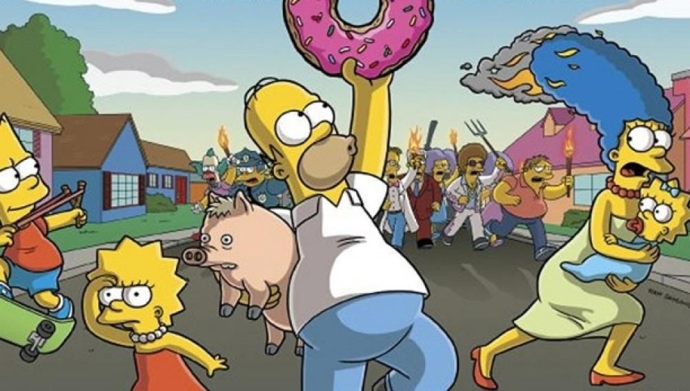 ¿Nueva peli de Los Simpson?