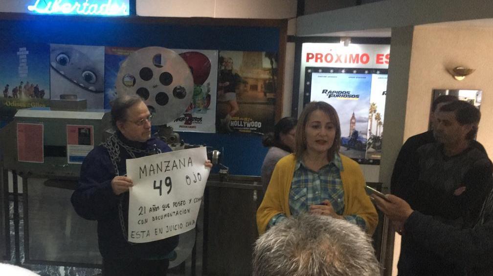 Hugo Zarza y Patricia Ferrareto en pleno diálogo.