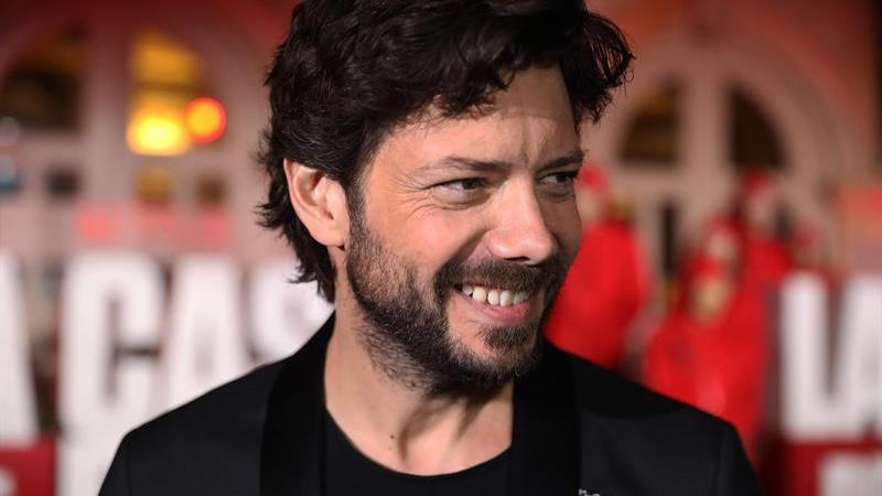 El actor español Álvaro Morte, que interpreta al profesor