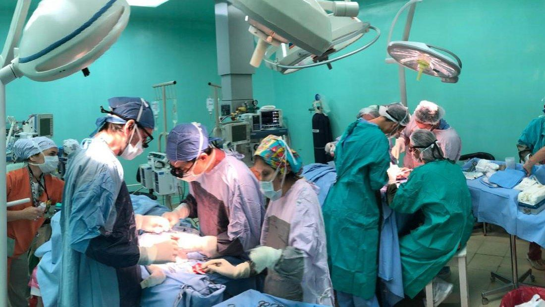 Gianluca y Santinofueron operados el 22 de junio (Foto Fundación Hospitalaria)