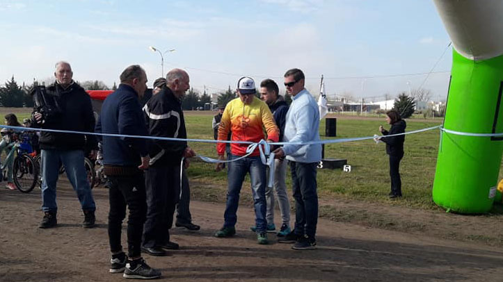 El nuevo velódromo se inauguró este domingo,