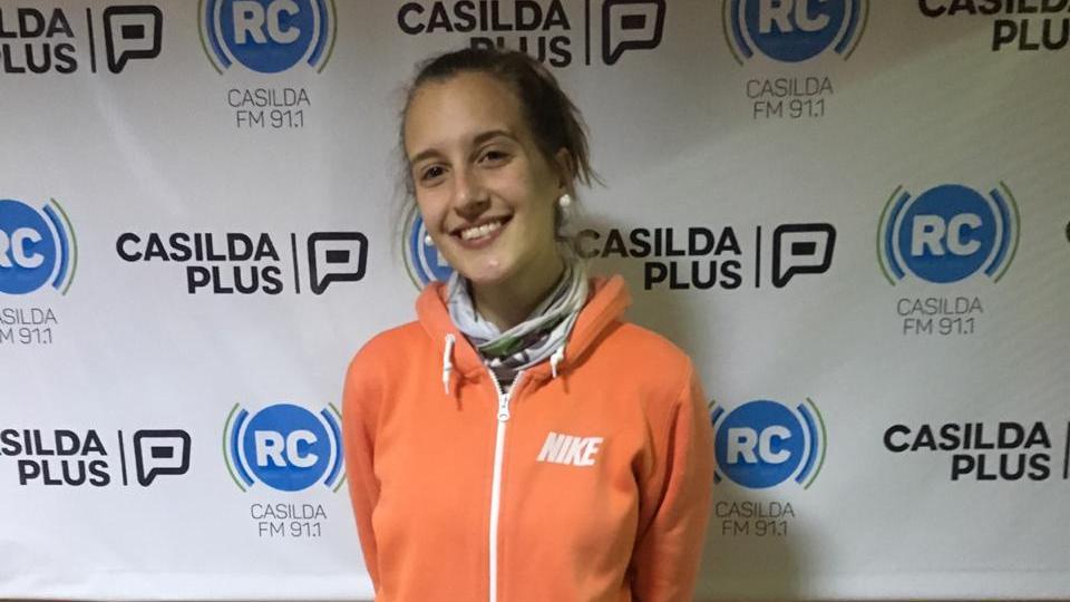 Melisa Angles estuvo en Radio Casilda.