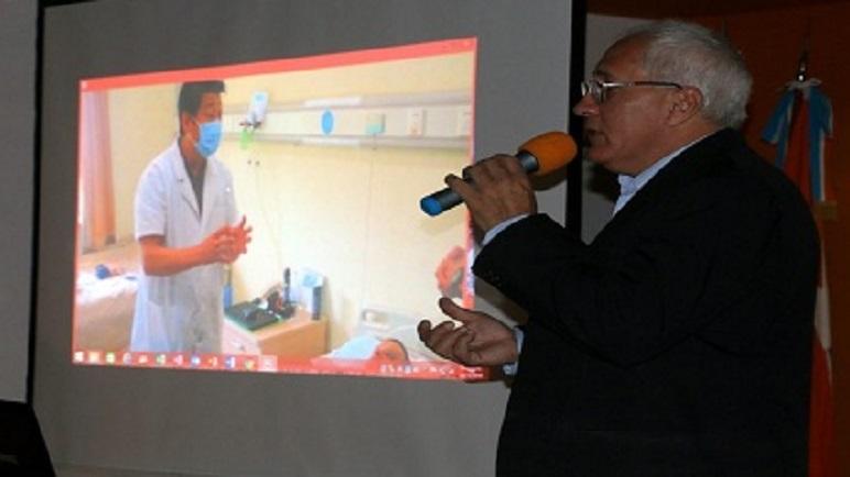 La conferencia será guiada por el consultor médico Juan Bautista Godoy.