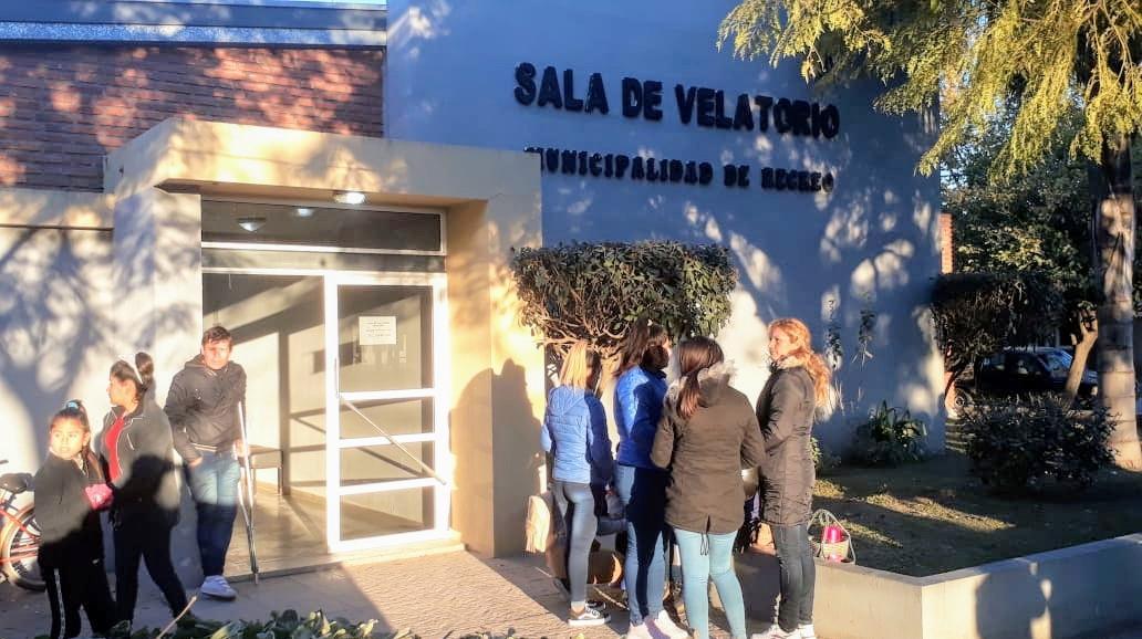 El velatorio de Diego Román comenzó este viernes por la tarde.