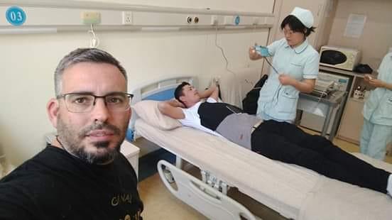 Osvaldo ya pasó por la clínica donde le realizaron ciertos estudios.