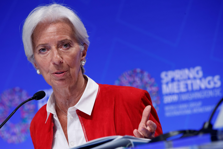 Lagarde se muda de Washington a Frankfurt.
