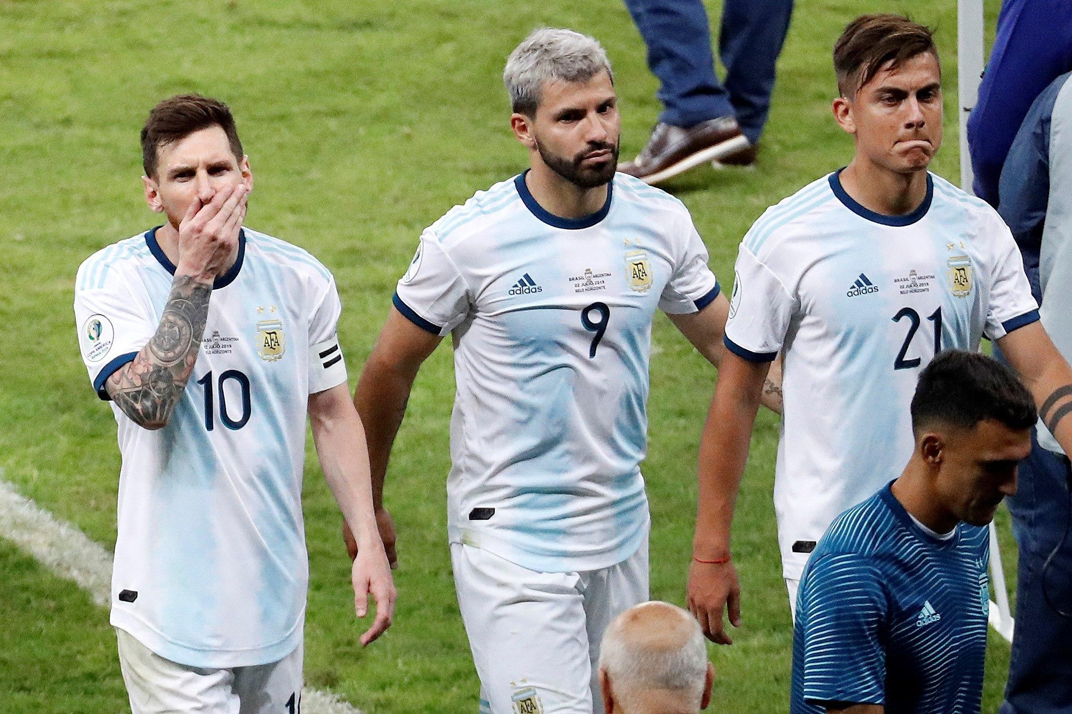 Un Brasil efectivo derrumbó al equipo nacional (EFE)
