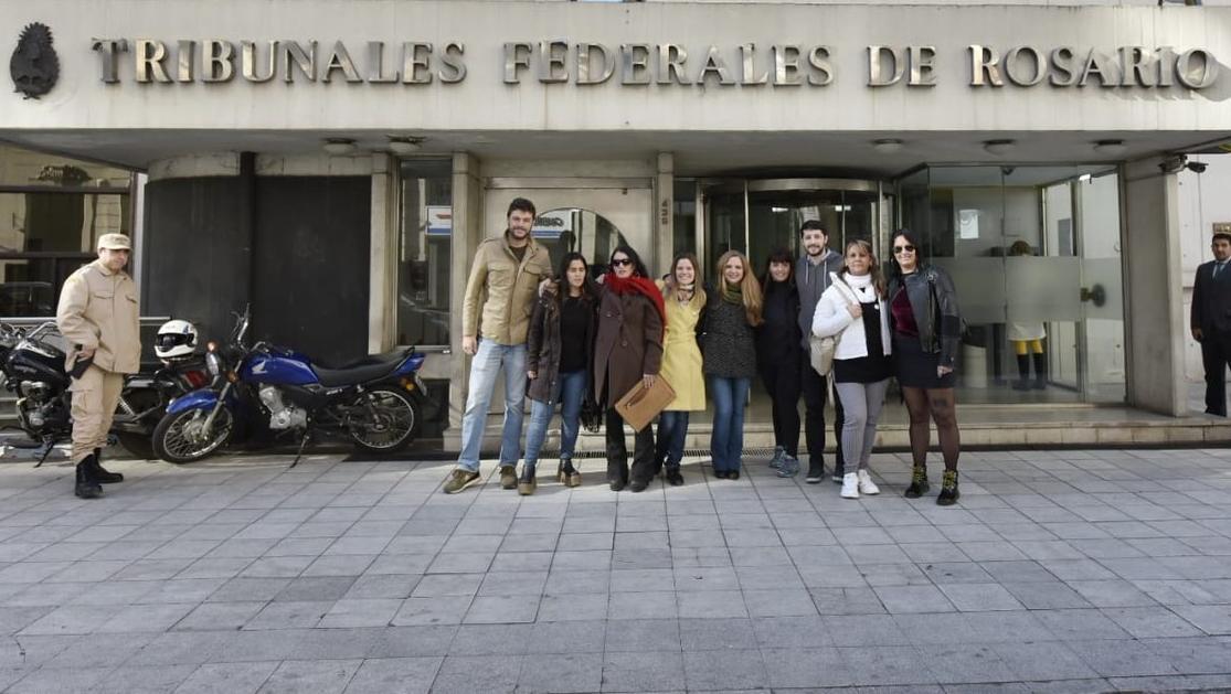 La presentación en la sede de la Cámara Federal, en Entre Ríos al 400.