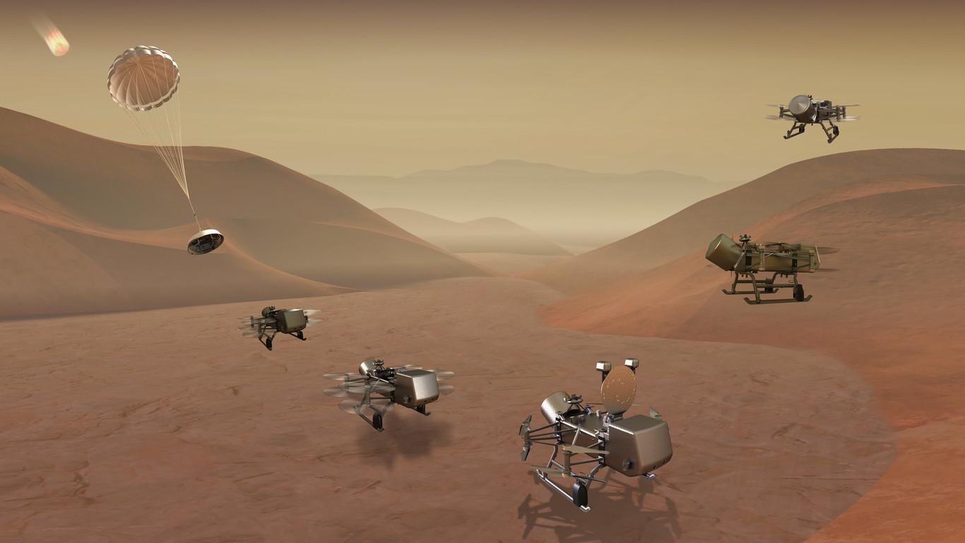 Imagen tomada del video difundido por la NASA.