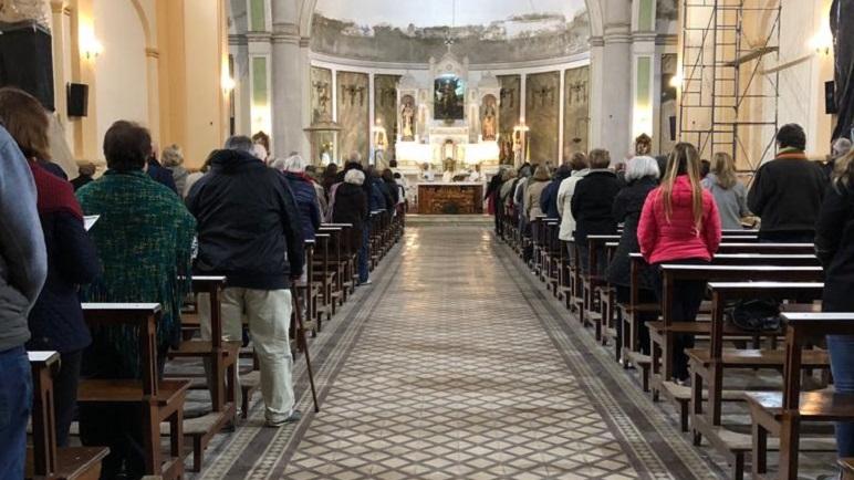Las imágenes de la celebración del Santo Patrono.