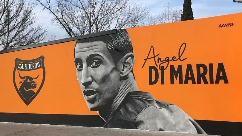 El gran mural del artista casildense.
