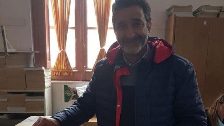 Andrés Golosetti, candidato a intendente.