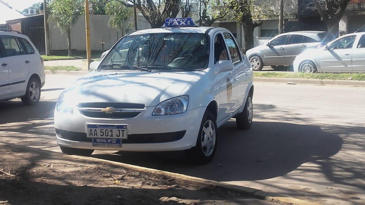 El auto que se llevaron los ladrones.