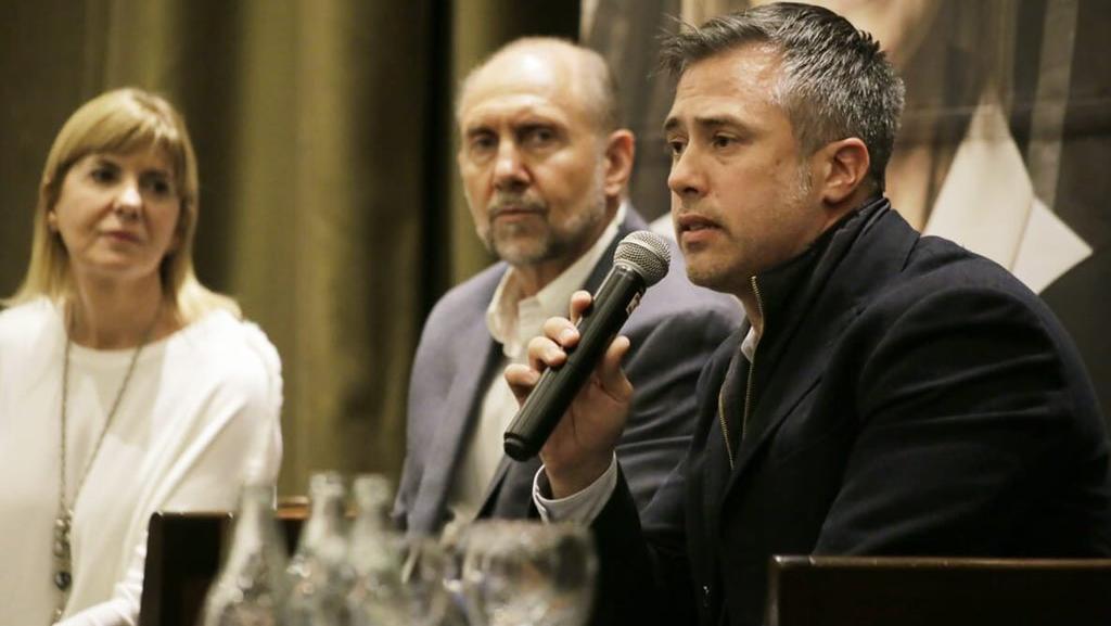 Leandro Busatto encabeza la lista de candidatos a diputados por el Frente Juntos.