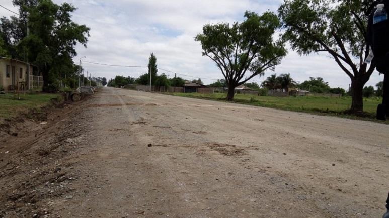 Así luce el tramo de la Circunvalar Norte de calle Oncativo.