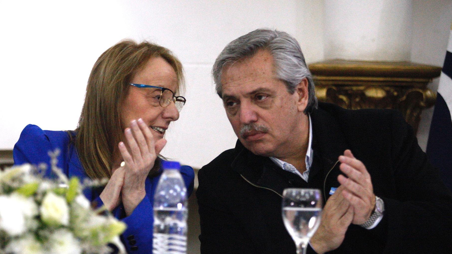 Fernandez visitó a Alicia Kirchner en Santa Cruz (Foto:Télam)