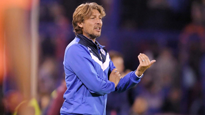 Heinze no habló de su continuidad en Vélez