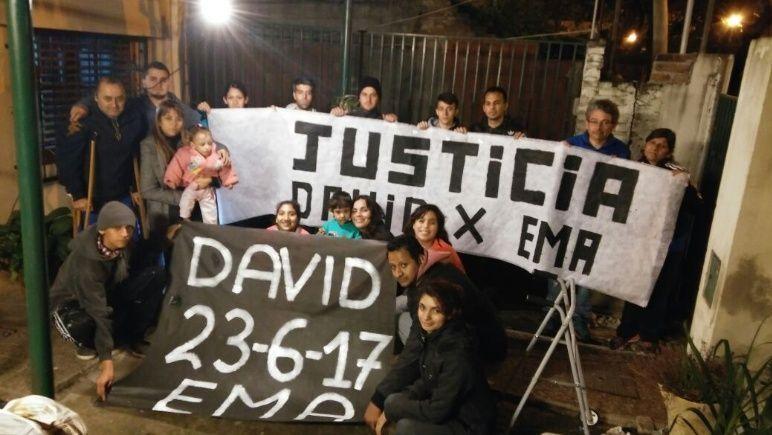 El caso de David y Ema, baleados en una esqunia de la zona sur