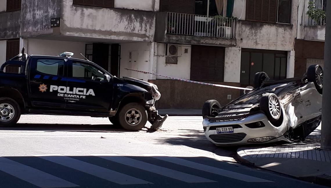 Así quedaron los vehículos en Italia y 9 de julio.