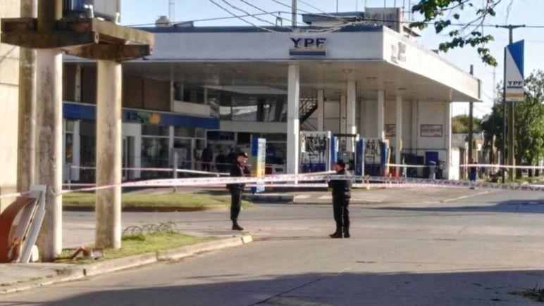 El episodio sucedió en la estación de servicio de Ovidio Lagos y Tucumán