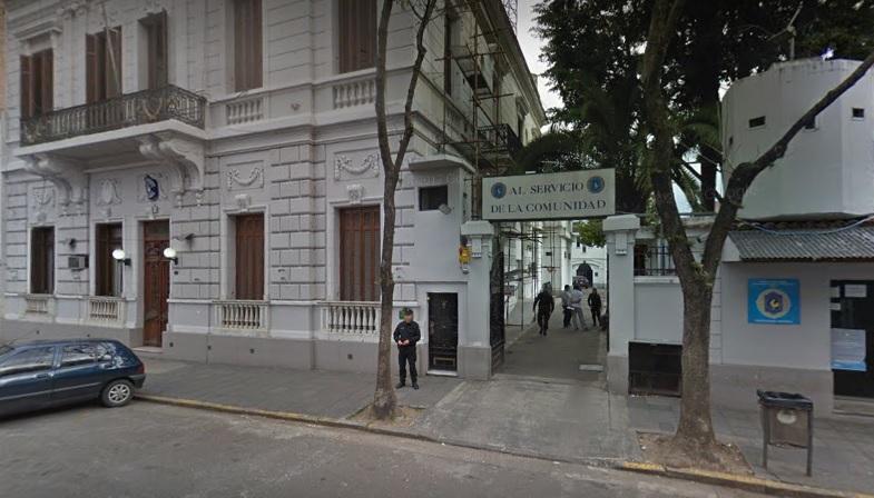 La delegación Rosario de la Policía Federal en calle 9 de Julio al 300.