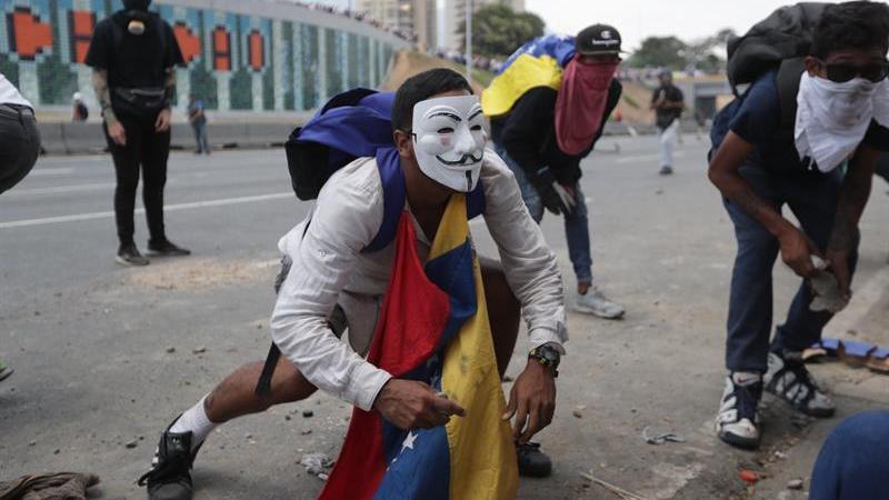 Disturbios tras el complot contra Maduro