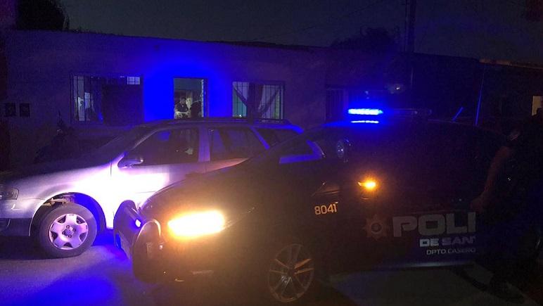 PDI y personal de la Unidad Regional IV estuvieron en el allanamiento.