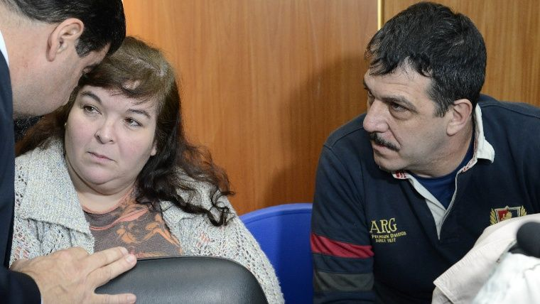 Gabriel Strumia y su esposa, Roxana Michl, principales acusados.
