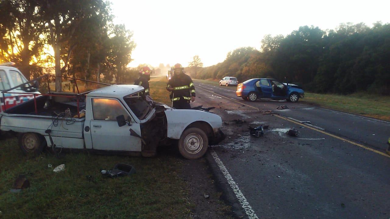 El accidente se produjo en las primeras horas de la mañana.