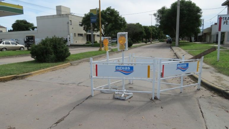 El tránsito estará cortado esta semana en Buenos Aires y Cerrito.