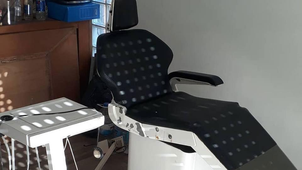 El nuevo sillón llegó donado a la Casita Popular.