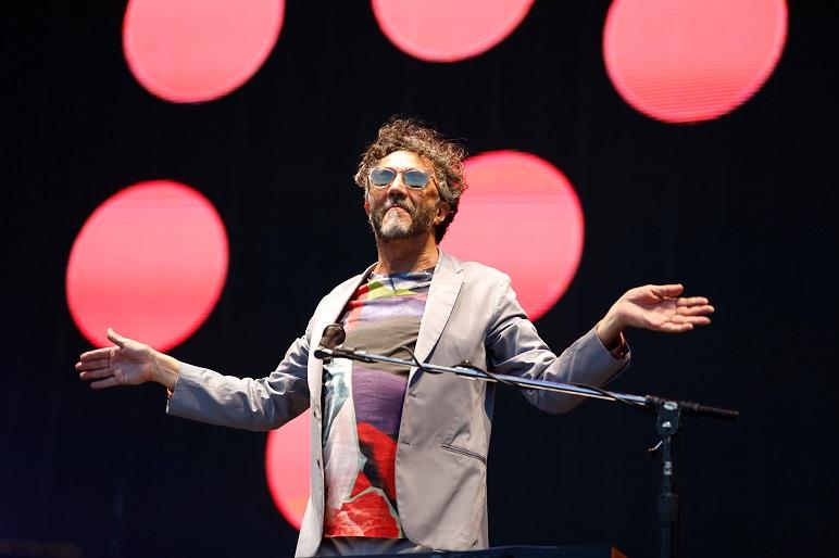 Páez en el Lollapalooza, un buen show.
