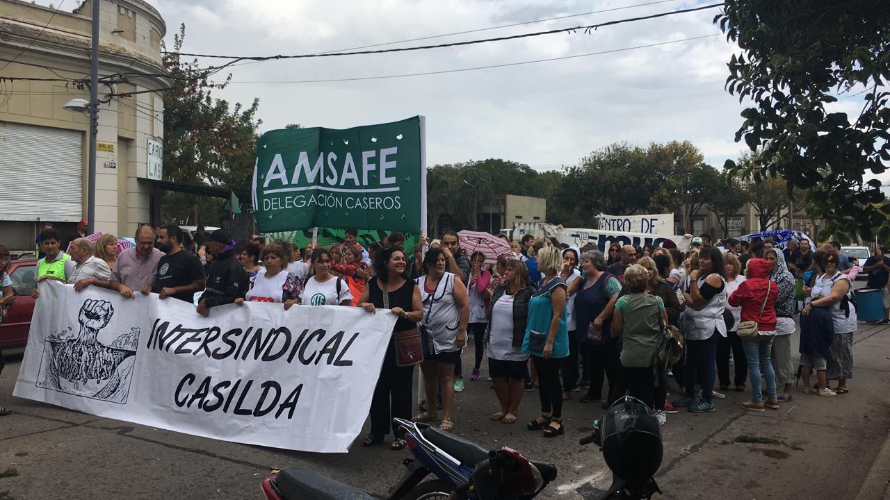 Poco más de 200 personas recorrieron las calles de nuestra ciudad.